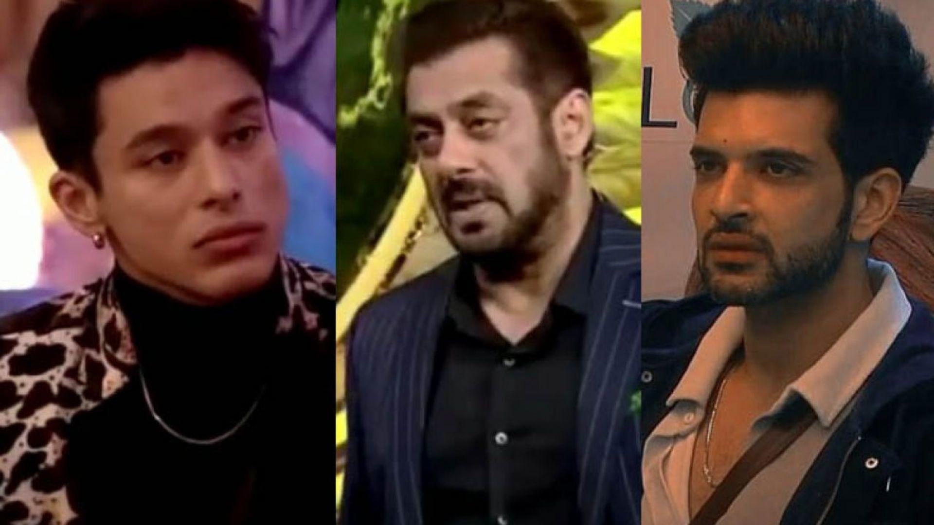 Bigg Boss 15 Weekend Ka Vaar: Salman Khan Slams Karan Kundrra For Pinning Down Pratik Sehajpal; 'Ek Din Aapko Bhi Koi Aise Hi Patkega'