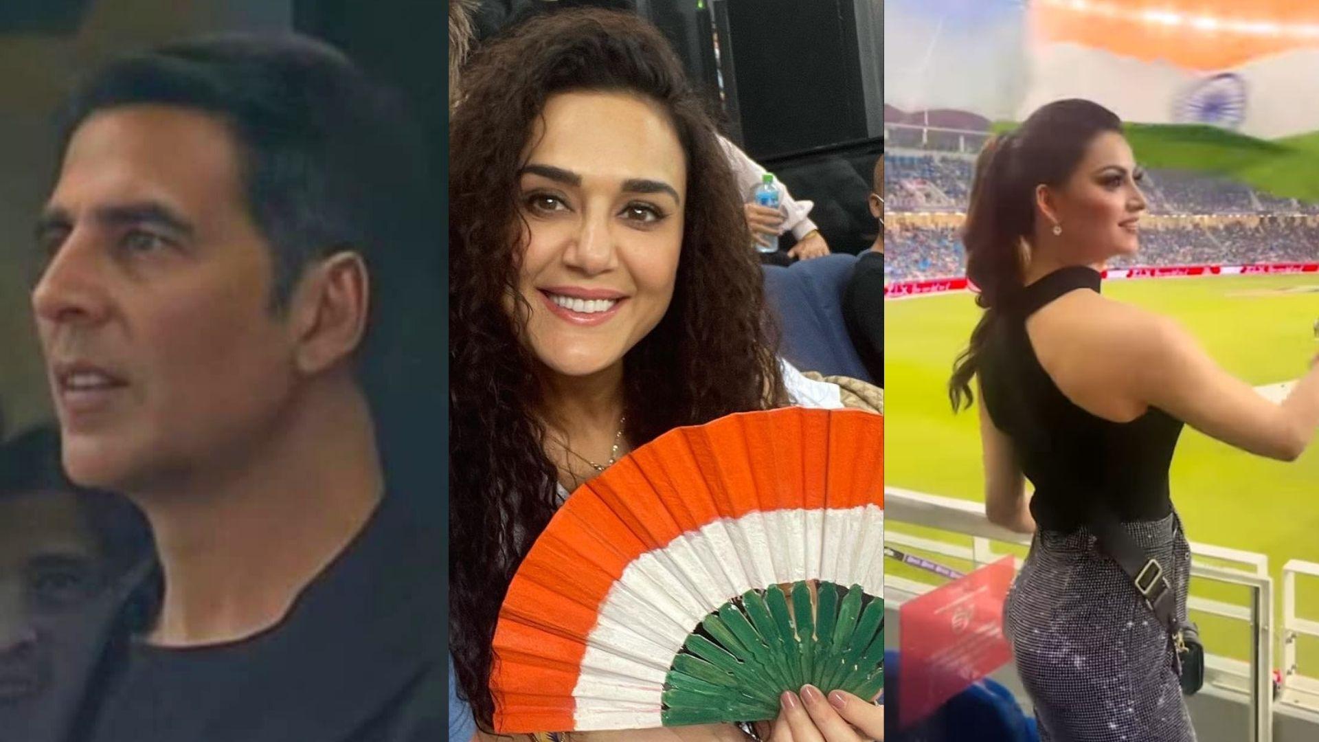 T20 World Cup: Akshay Kumar, Preity Zinta, Urvashi Rautela And Others Attend The India Vs Pakistan Match In Dubai