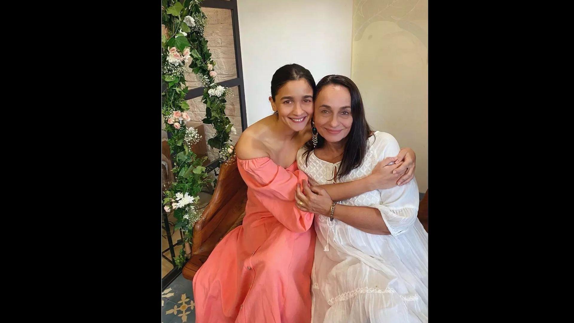 Alia Bhatt Extends Her Kindest Wishes To Mom Soni Razdan On her Birthday Where Soni Looks Ingenuous