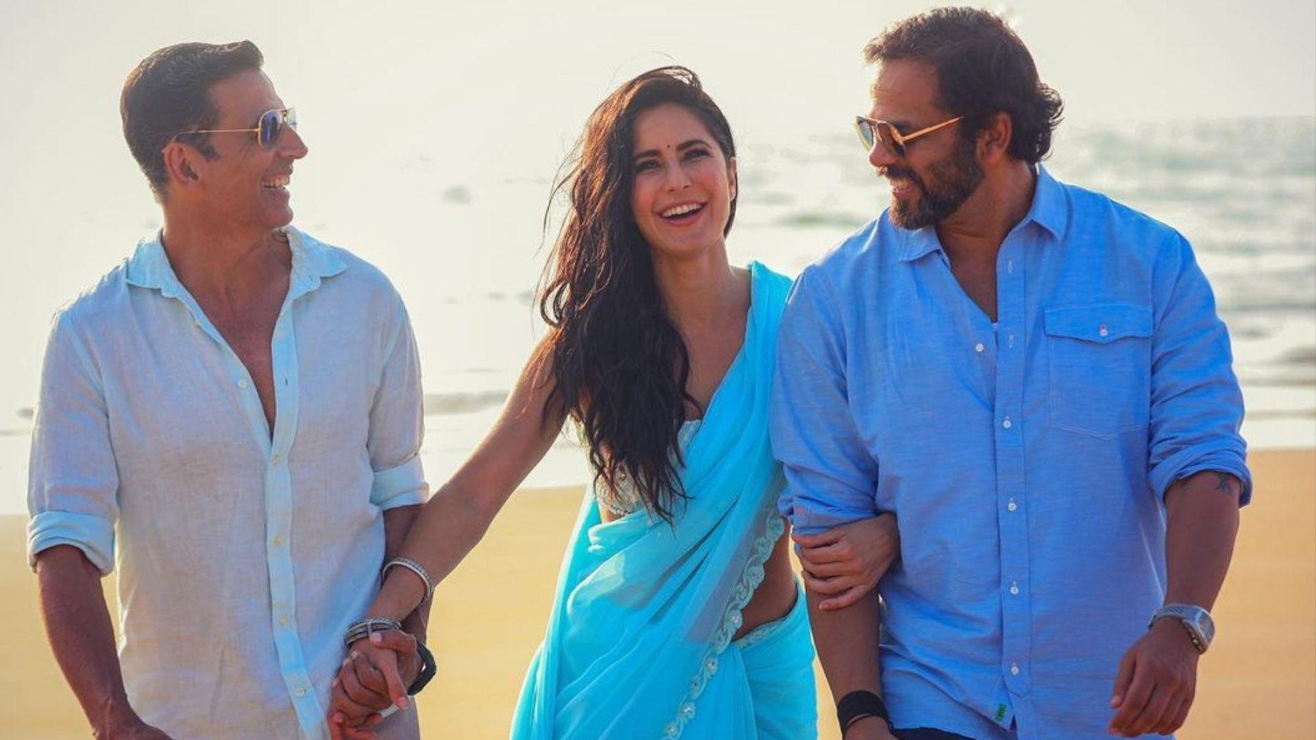 Sooryavanshi: Countdown For Rohit Shetty's Cop Universe Film Begins! Director Shares Photo With Akshay Kumar And Katrina Kaif
