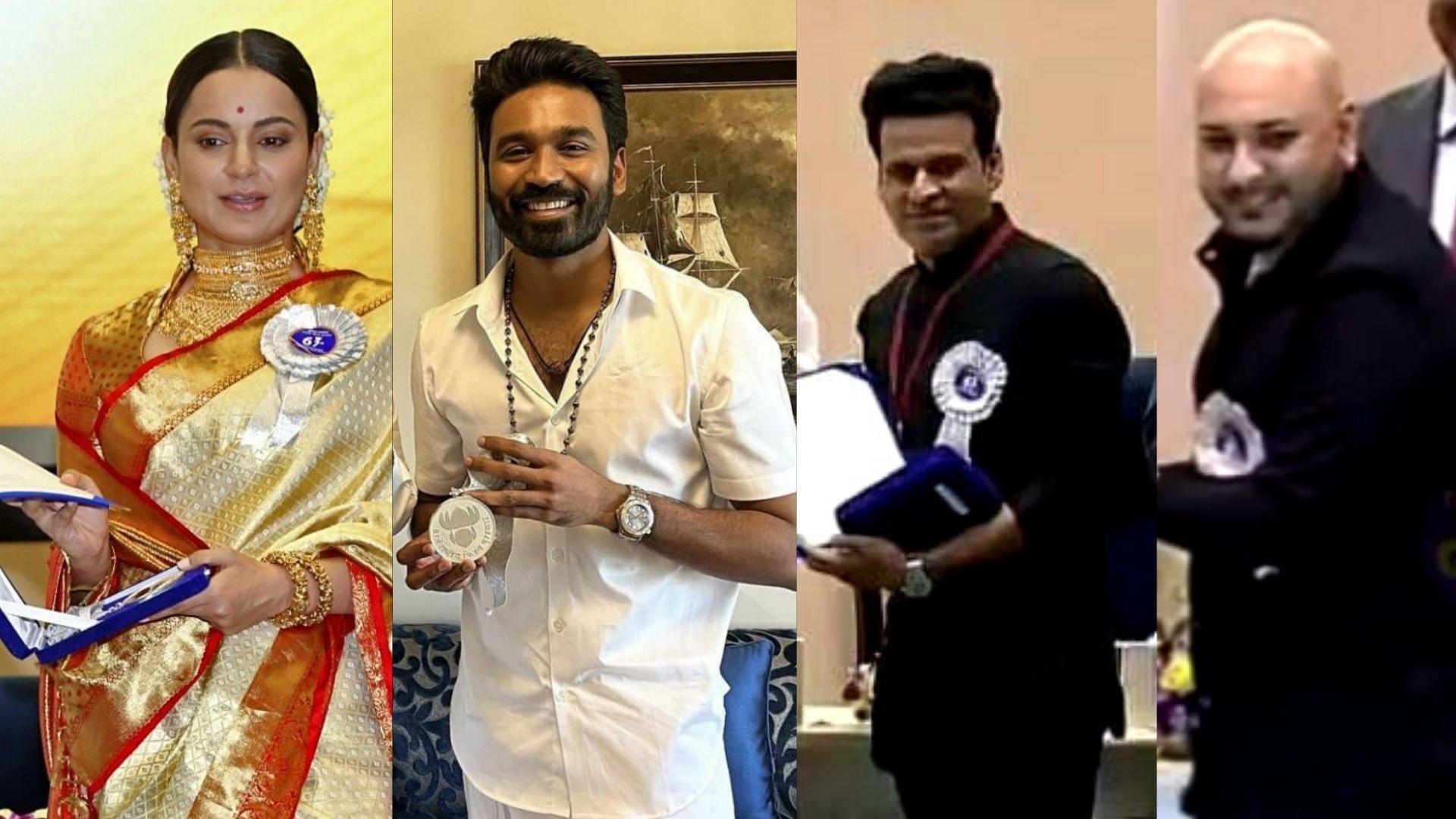 67th National Film Awards Winners List: Kangana Ranaut, Manoj Bajpayee, Dhanush, B Praak And Others Take The Prestigious Award Home