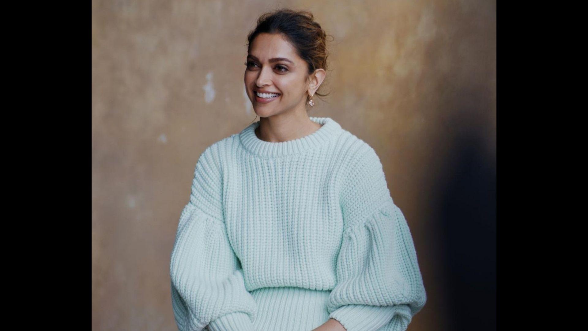 Deepika Padukone Dons An Easy Breezy Sweatshirt In Her Latest IG Post – SEE PICS