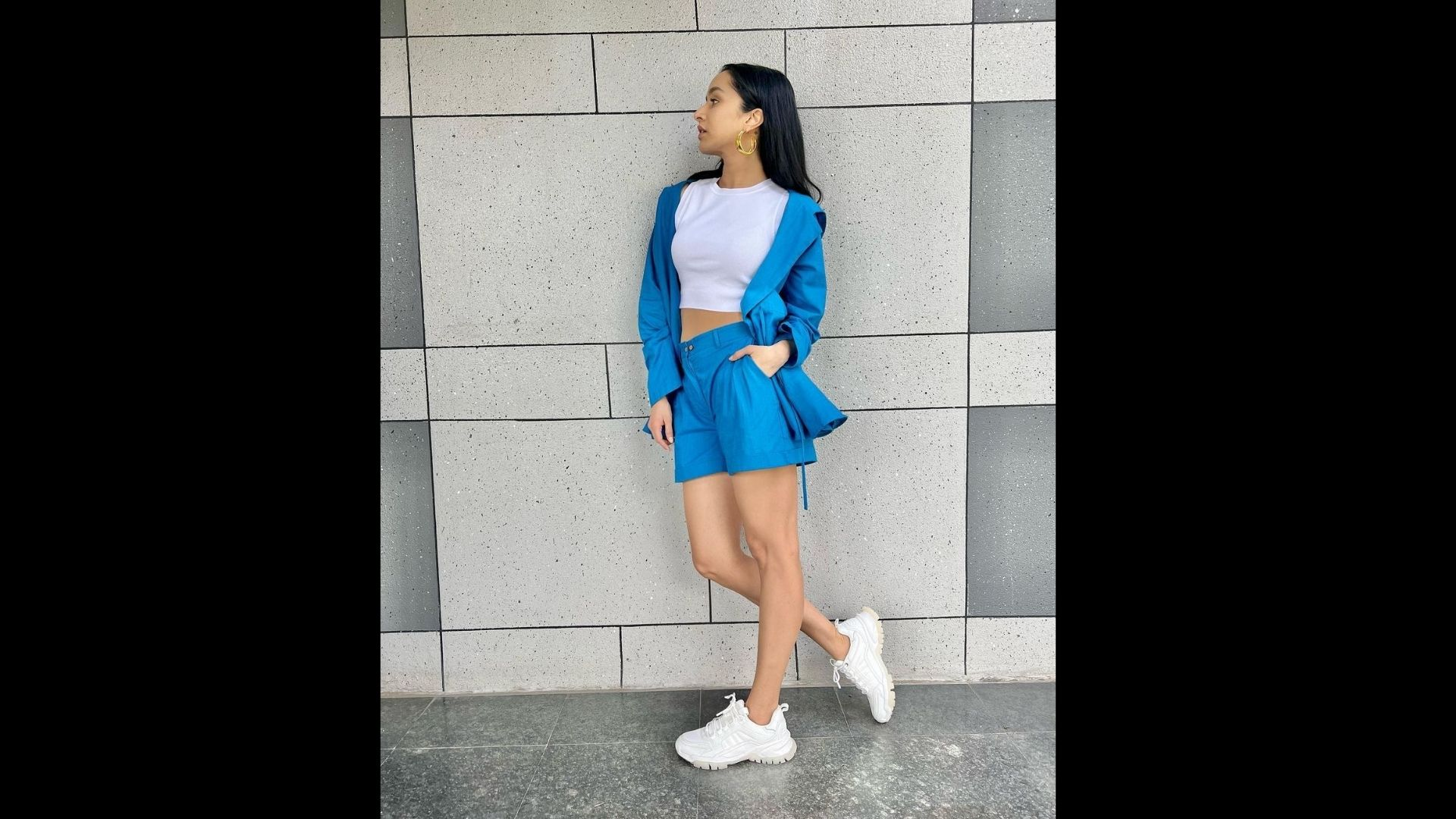 Shraddha Kapoor Power Dresses Her Monday And The Look Is Super Chic