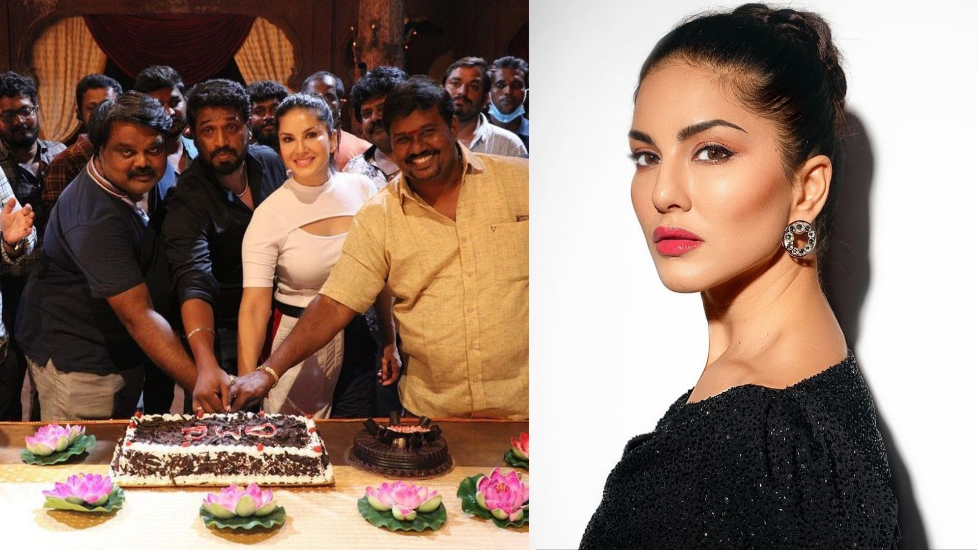 Oh My Ghost: Sunny Leone Wraps Up Film Production Of Debut Tamil Film; Shares BTS Photo With Crew On Gram – SEE PICS