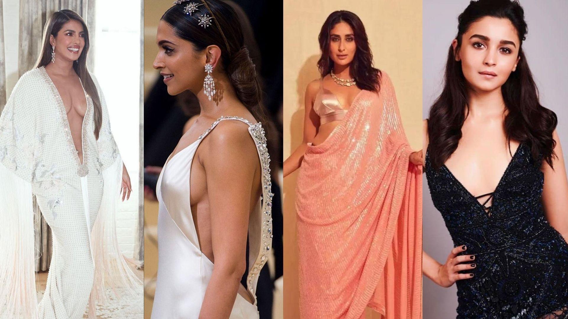 Priyanka Chopra, Kareena Kapoor, Alia Bhatt, Deepika Padukone And Other Bollywood Divas Who Had Their Oops Fashion Moment