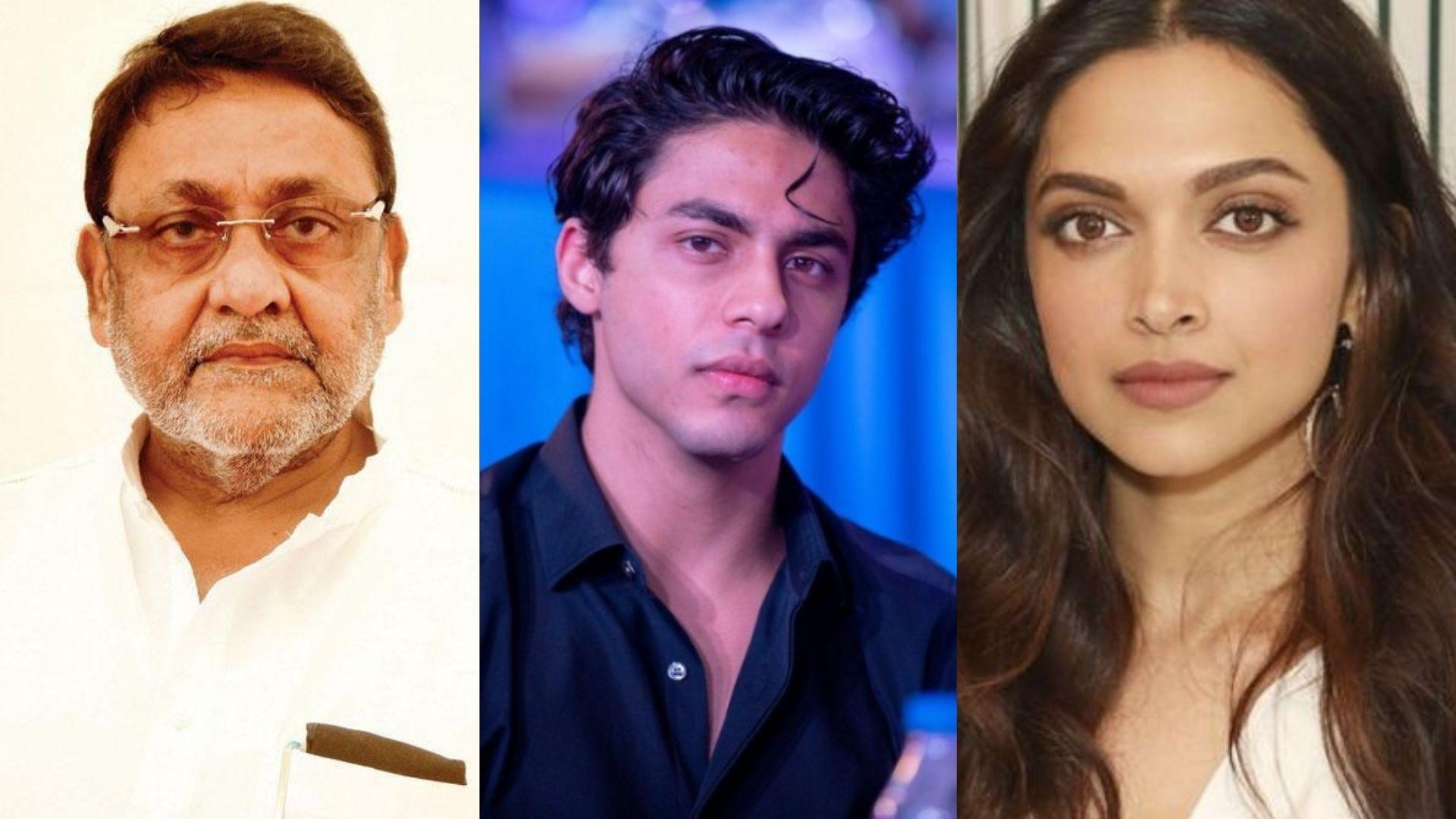 Aryan Khan Arrest Case: Nawab Malik Demands For An Electronic Probe In Shah Rukh Khan's Son's Case Citing Example of Deepika Padukone