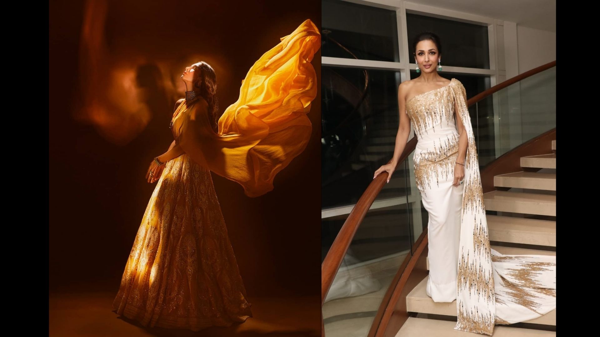 Malaika Arora's Indo Western Look That Are Perfect For This Diwali; Take Cues