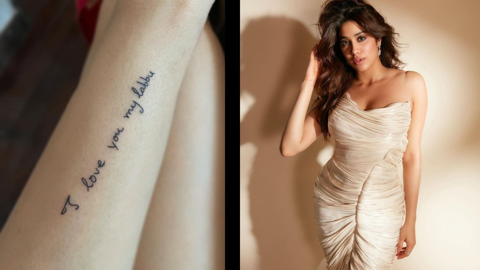 Janhvi Kapoor Gets Mom Sridevi's Handwritten Note Inked On Her Arm; Her Chanting Govinda In This Hilarious Video Will Make You Go ROFL
