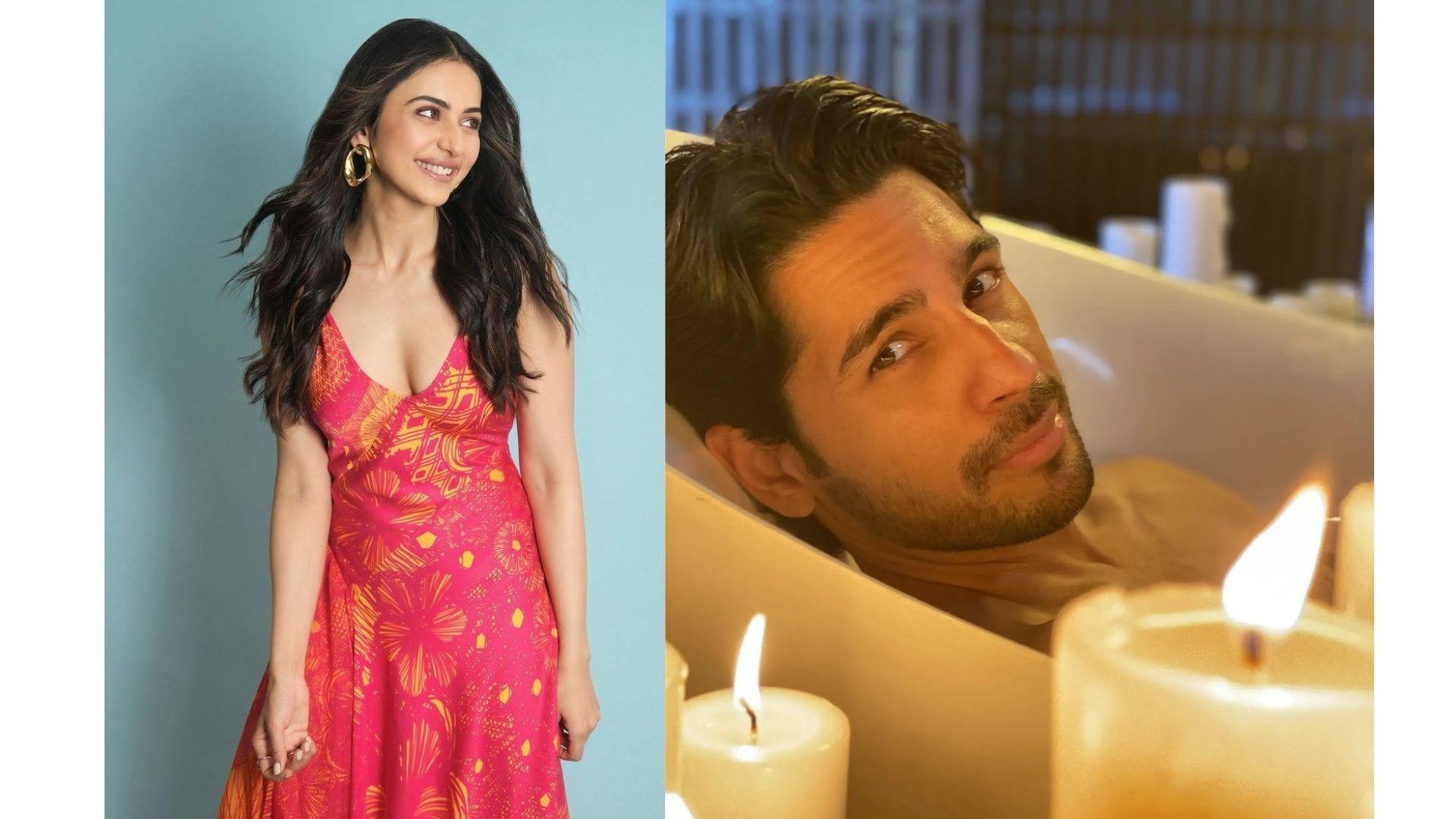 Rakul Preet Singh REACTS To Sidharth Malhotra's Bathtub Shoot Pics With Candles