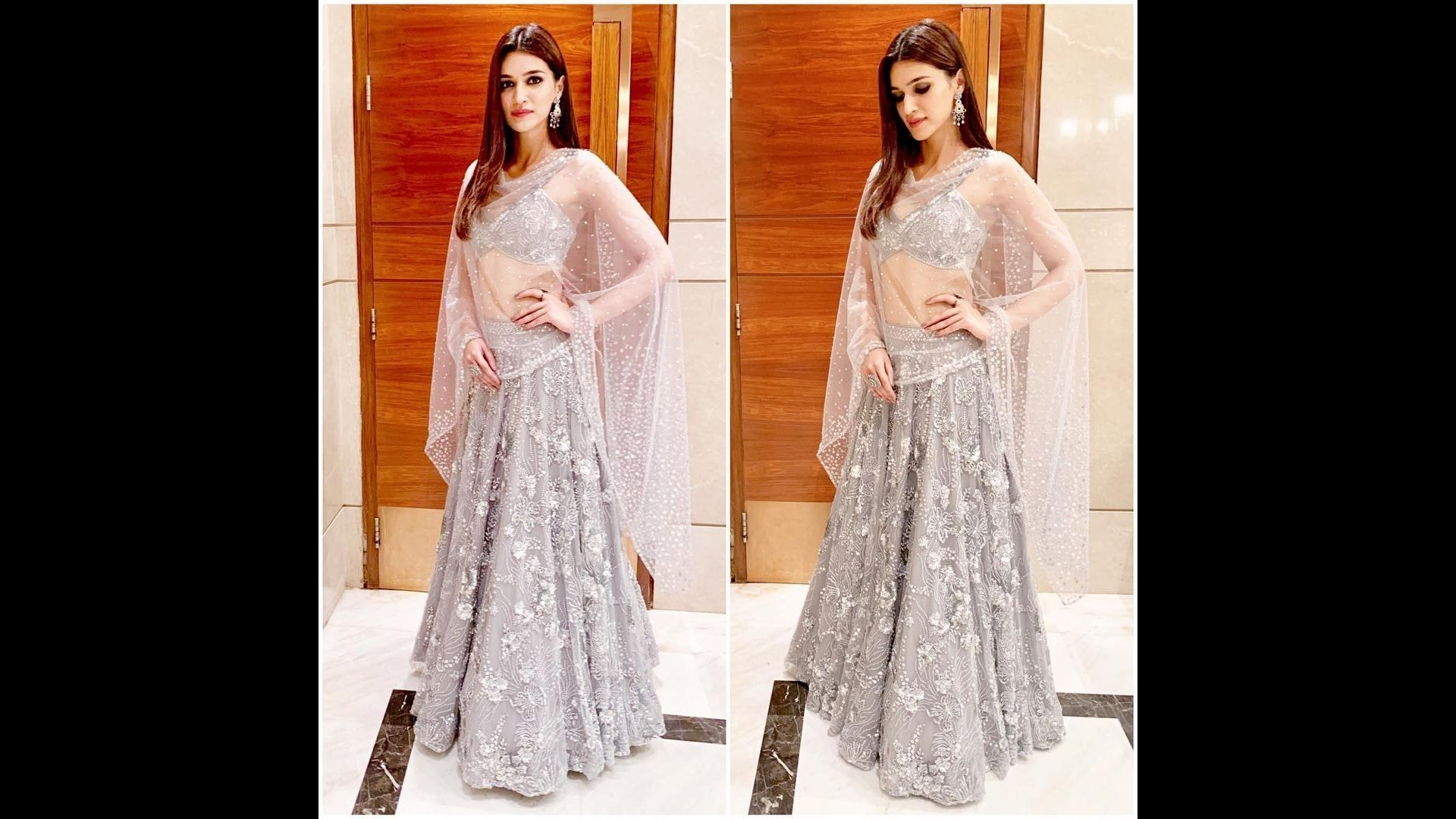 Navratri 2021 Day 3: Kriti Sanon's Top Three Looks In The Grey Outfits That Are Perfect For The Third Day