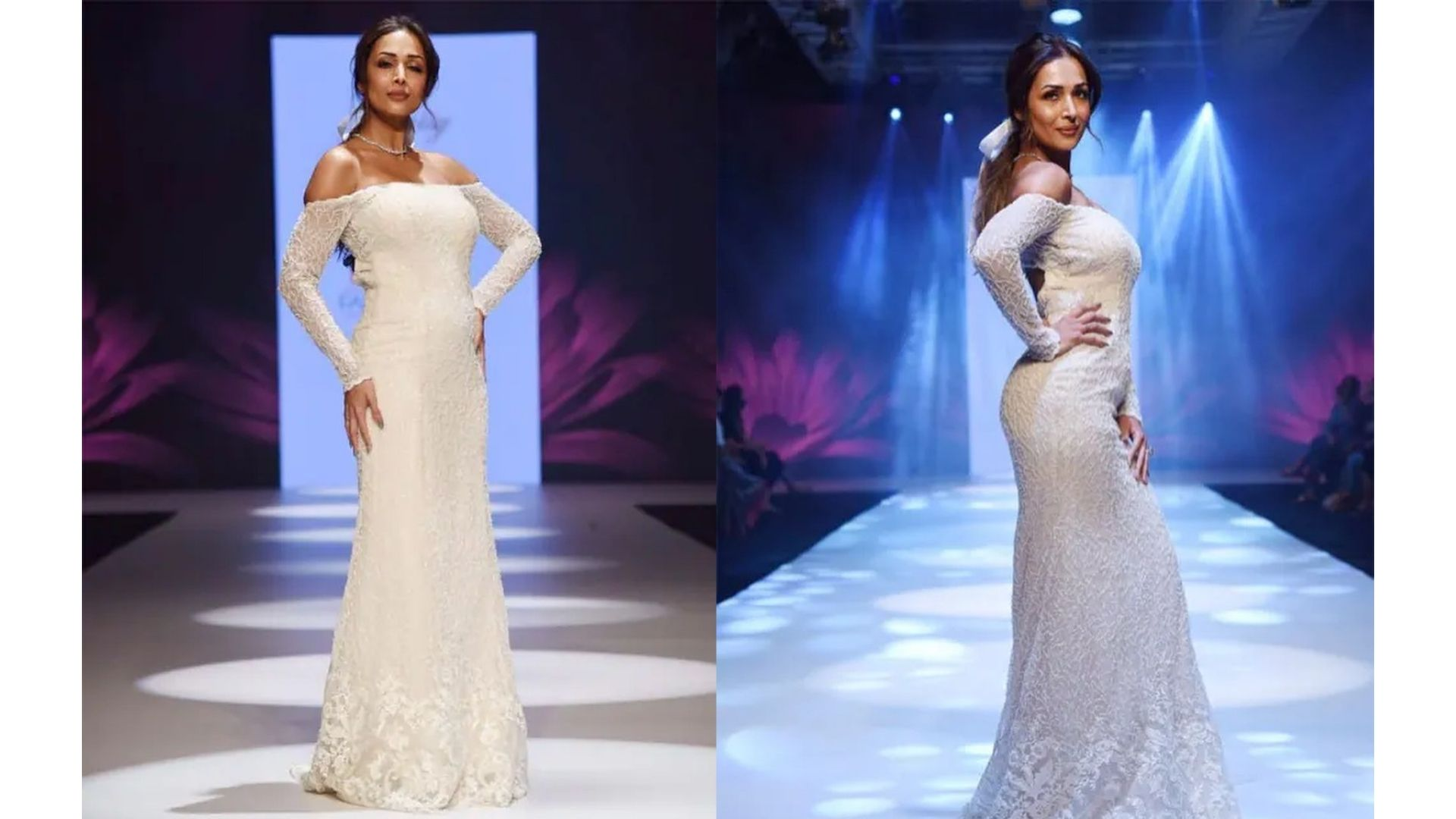 Malaika Arora Graces The Ramp As A Showstopper At The Bombay Times Fashion week