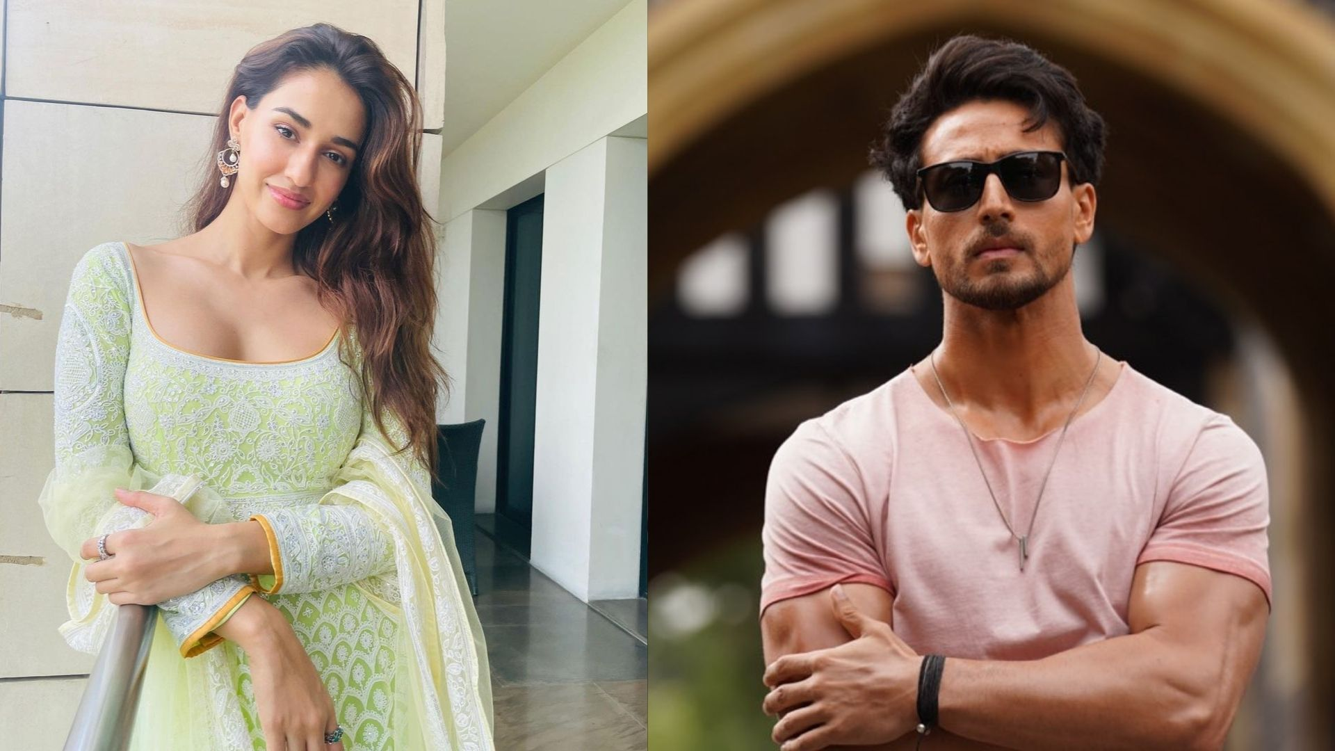 Disha Patani Looks Like A Bombshell In A Black Strapless Dress; BF Tiger Shroff Reacts With Heart Emojis