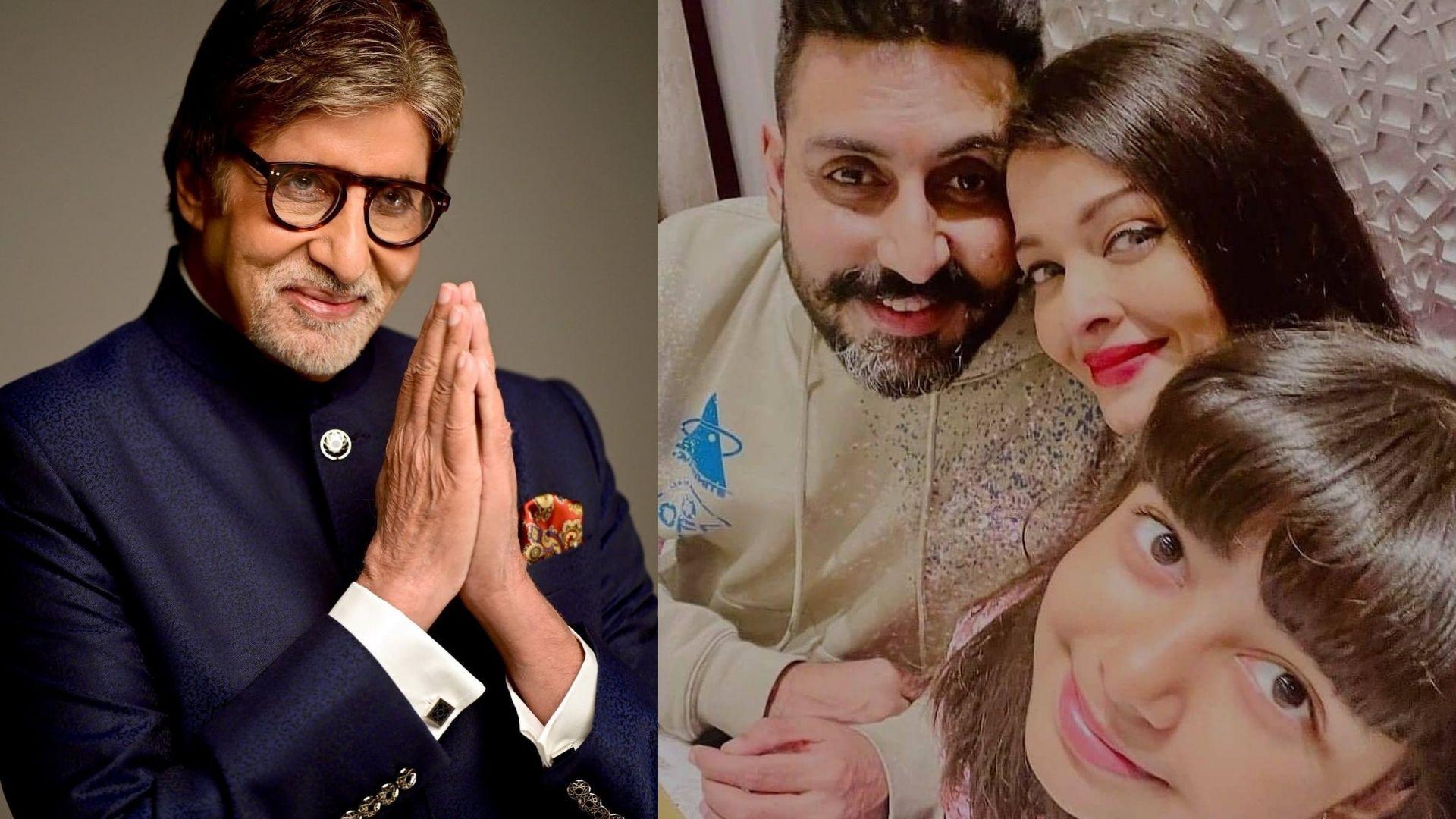 Amitabh Bachchan Birthday: Abhishek Bachchan, Aishwarya And Aaradhya Return To Celebrate Big B's B'Day; Jr. Bachchan Posts A Heartwarming Wish