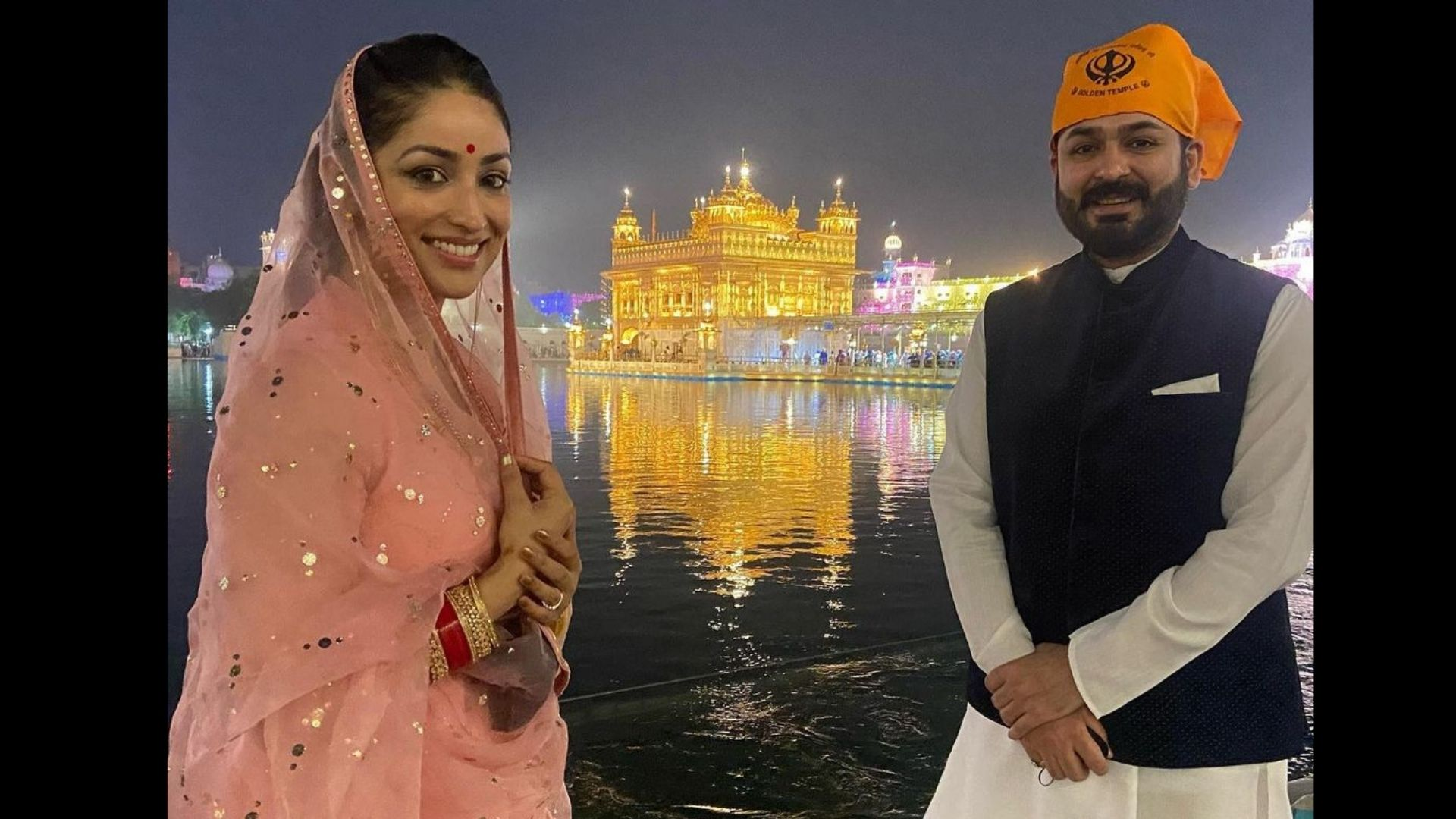 Yami Gautam's First Beautiful Picture With Husband At A Special Place Is Here