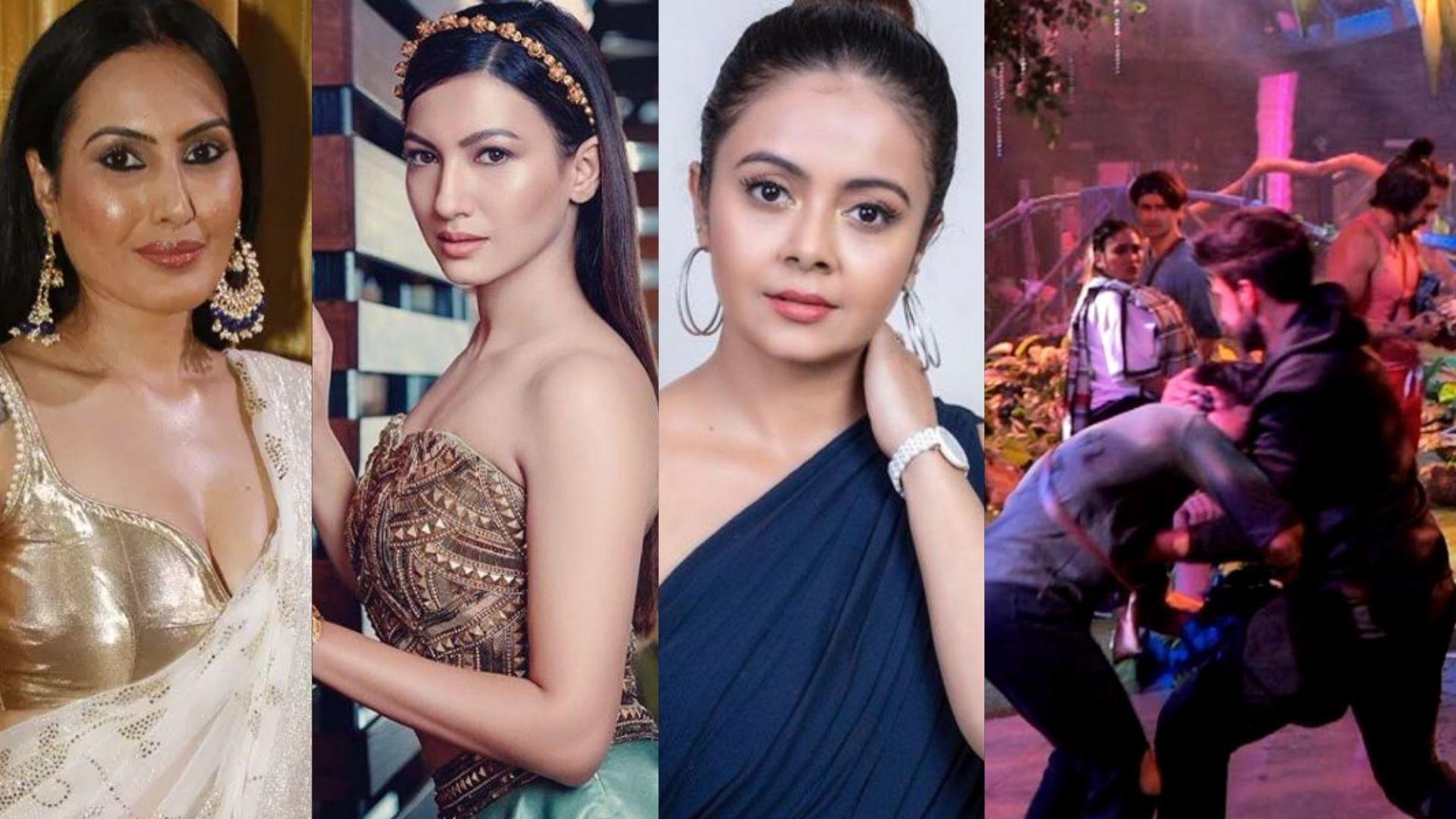 Bigg Boss 15: Devoleena, Gauahar Khan, Kamya Punjabi Bash Karan Kundrra For Slamming Pratik Sehajpal On The Floor; Netizens Demand Eviction