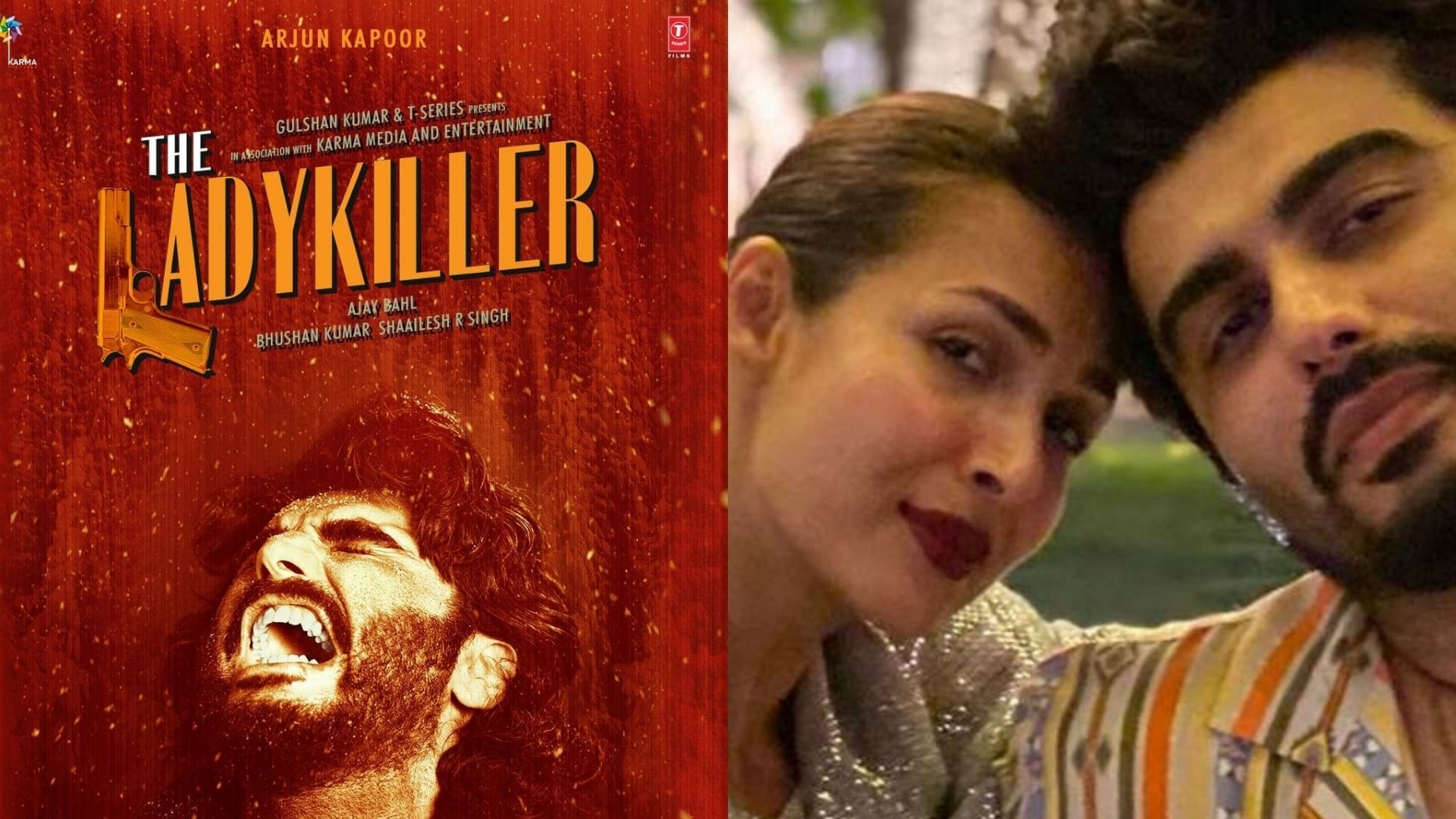The Lady Killer Poster: Arjun Kapoor's Lady Love Malaika Arora Lauds Her Boyfriend For His Intense Look In Ajay Bahl's Upcoming Film