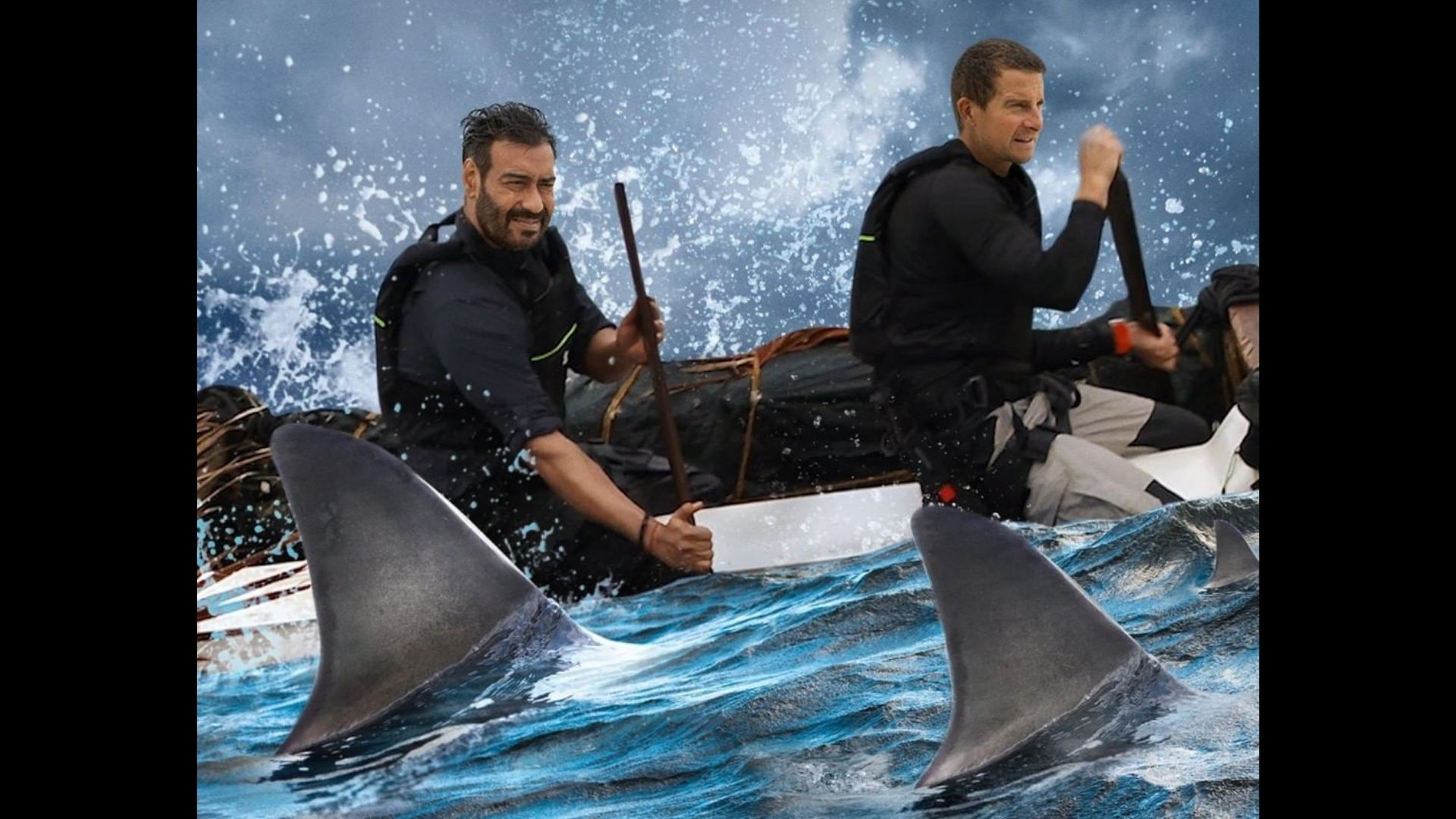 Into The Wild With Bear Grylls Trailer: Ajay Devgn Explores His Wild Side With Sharks And Dense Forest; Actor Makes A Catamaran With Grylls