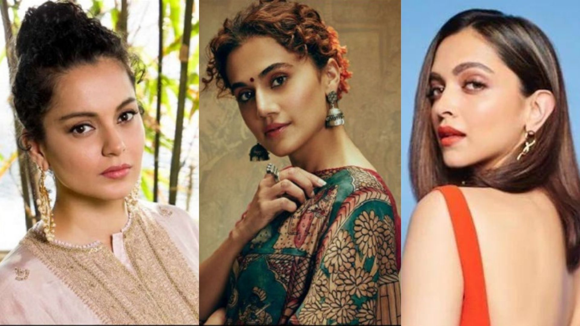 Times When Kangana Ranaut Passed Mean Comments To Taapsee Pannu, Deepika Padukone And Others