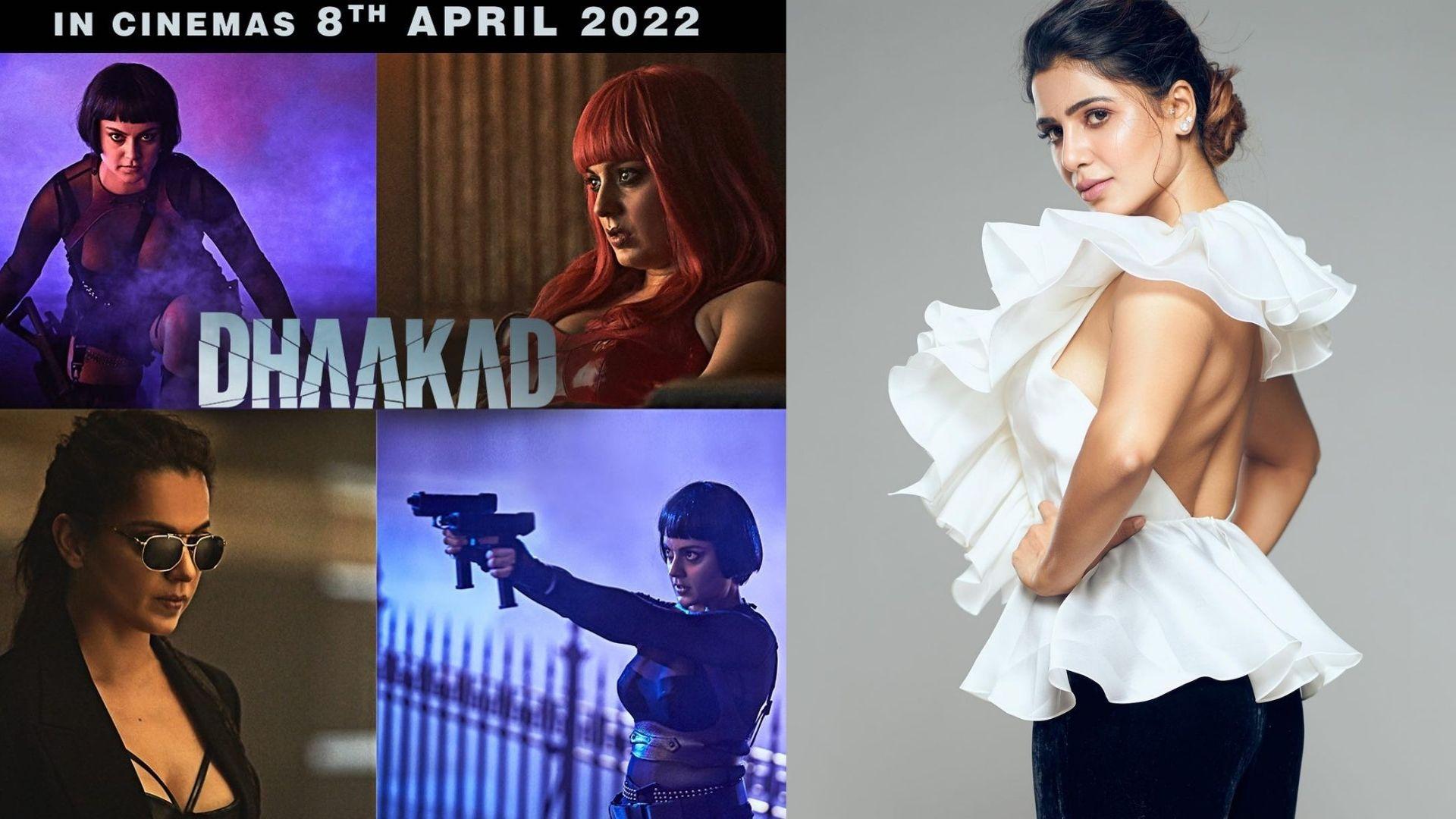 Dhaakad: Kangana Ranaut's Upcoming Film Poster Seems To Have Impressed Samantha Ruth Prabhu; Here's How