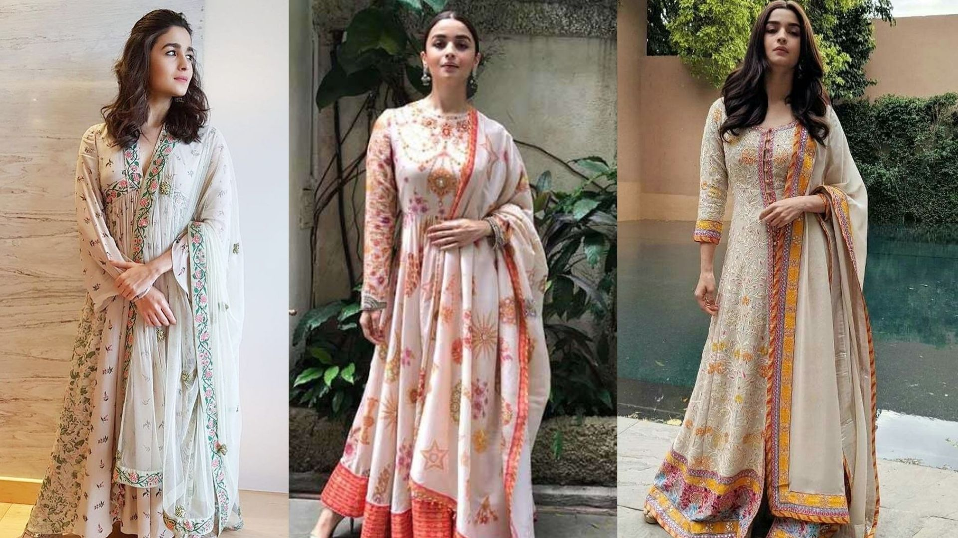 Alia Bhatt's Top 3 Ethnic Looks In Pastel Shades That Are Perfect For The Wedding Season