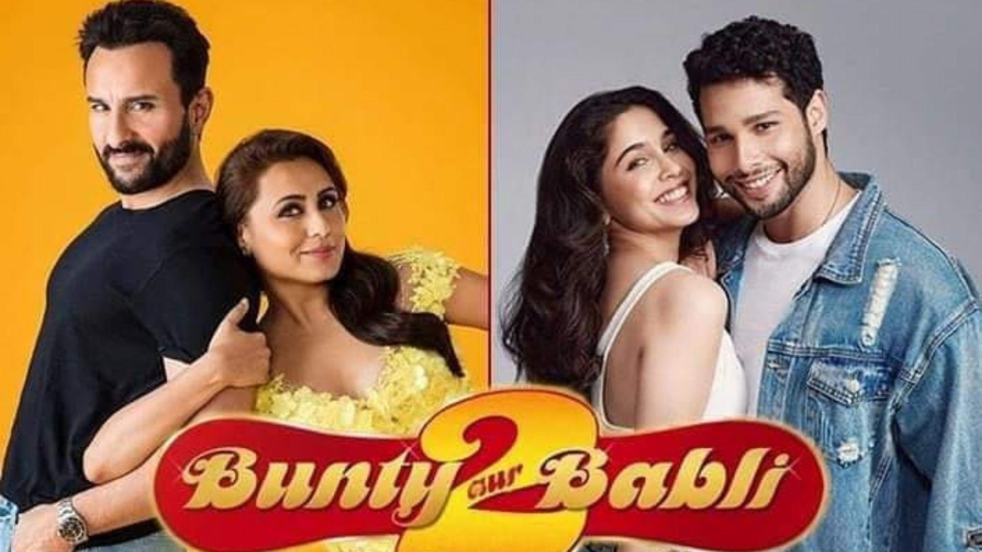 Bunty Aur Babli 2: Saif Ali Khan And Rani Mukerji's First Look OUT; Makers Share Hilarious BTS Still