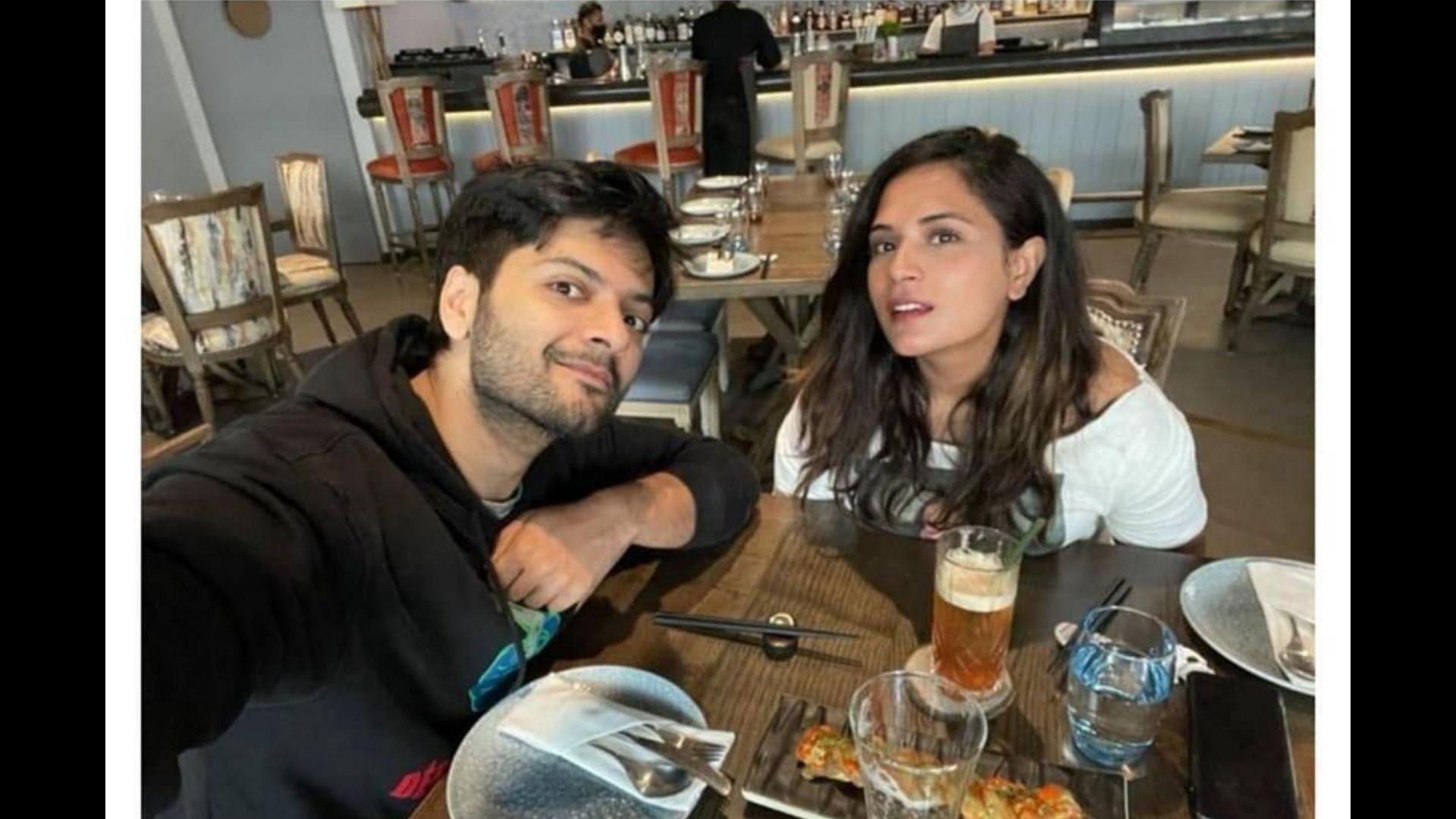 Girlfriend Richa Chadha Posts An Adorable Video Of Ali Fazal Caressing Her Hair
