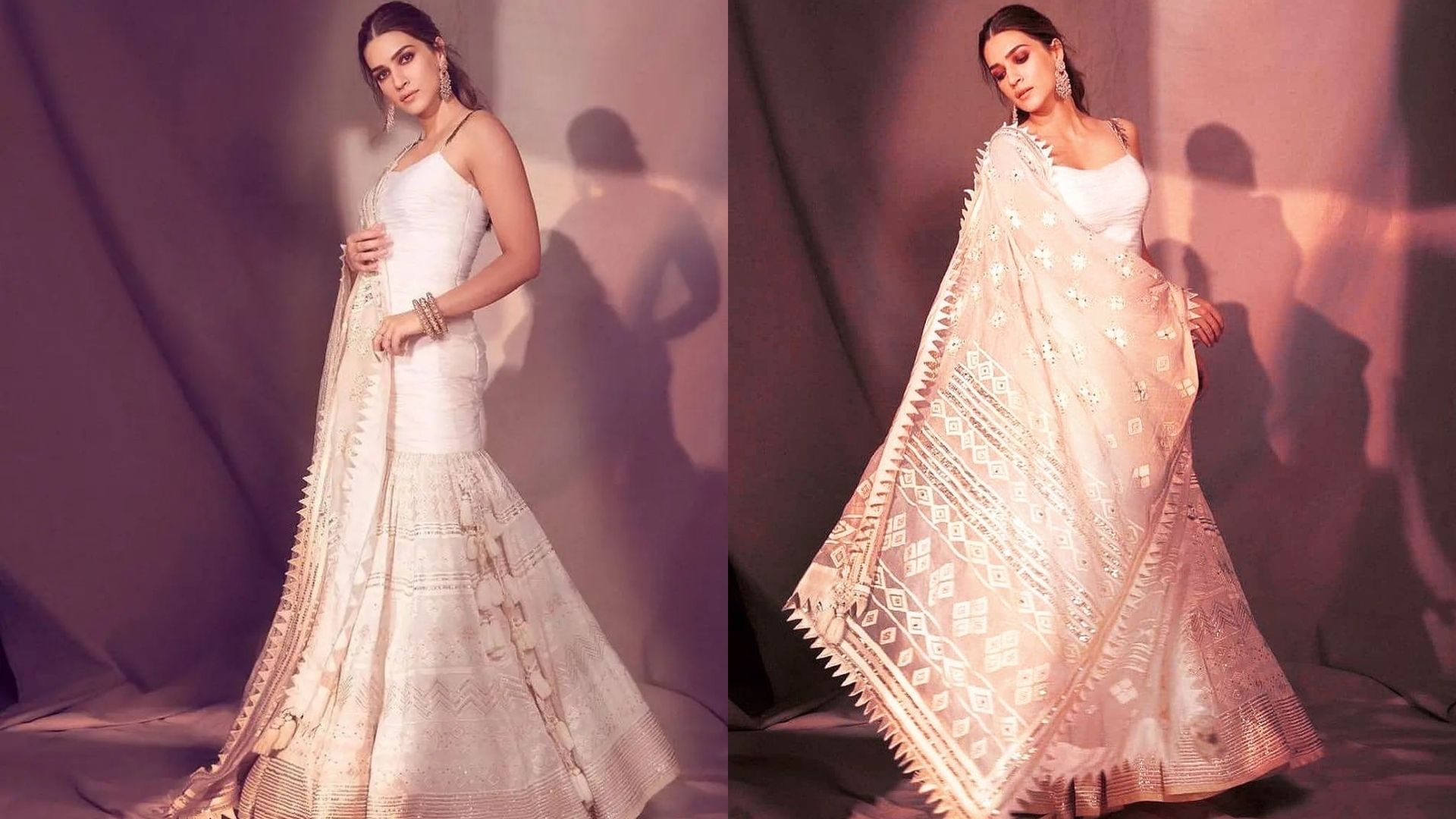Kriti Sanon's Mesmerising Indo-Western Promotion Looks Will Leave You Awestruck