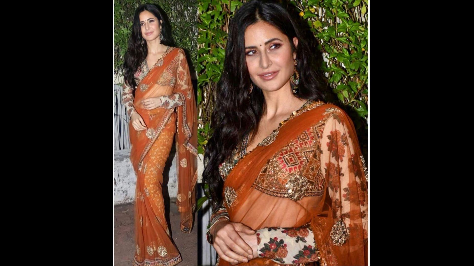 Sooryavanshi: Katrina Kaif Promotes Film In A Stunning Sabyasachi Saree; Her Look Will Give You Major Inspiration For Diwali – PICS INSIDE
