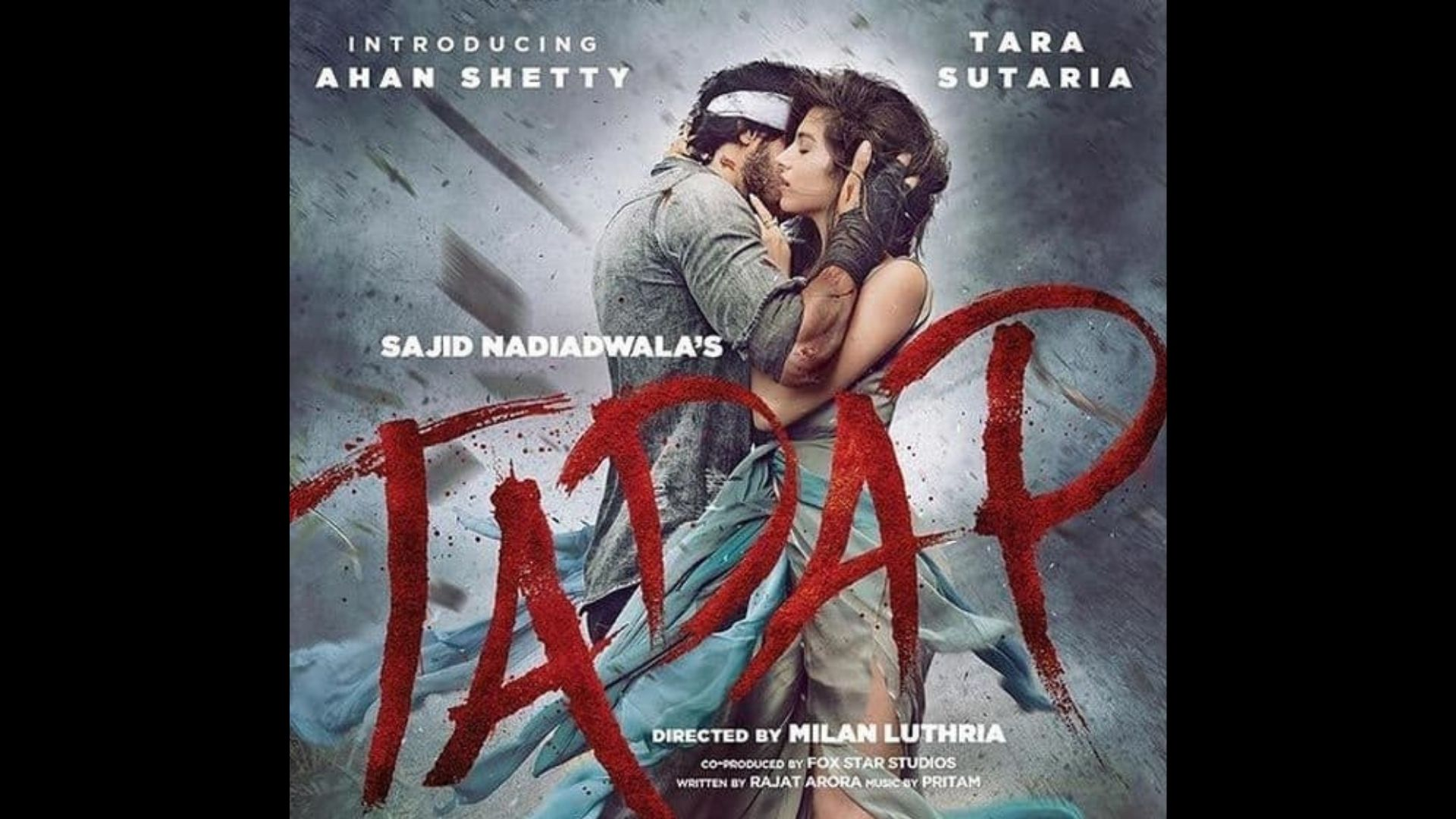 Tadap New Poster Out: Tara Sutaria And Ahan Shetty's Intense Romance Goes Viral On The Internet; Here's How Netizens Are Reacting