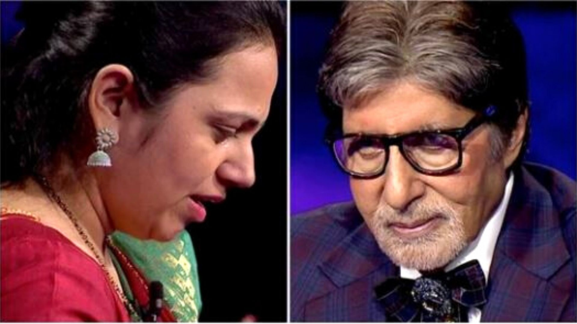 KBC 13: Amitabh Bachchan Acts As A Peacemaker And Reunites A Contestant With Her Father As He Refuses To Speak