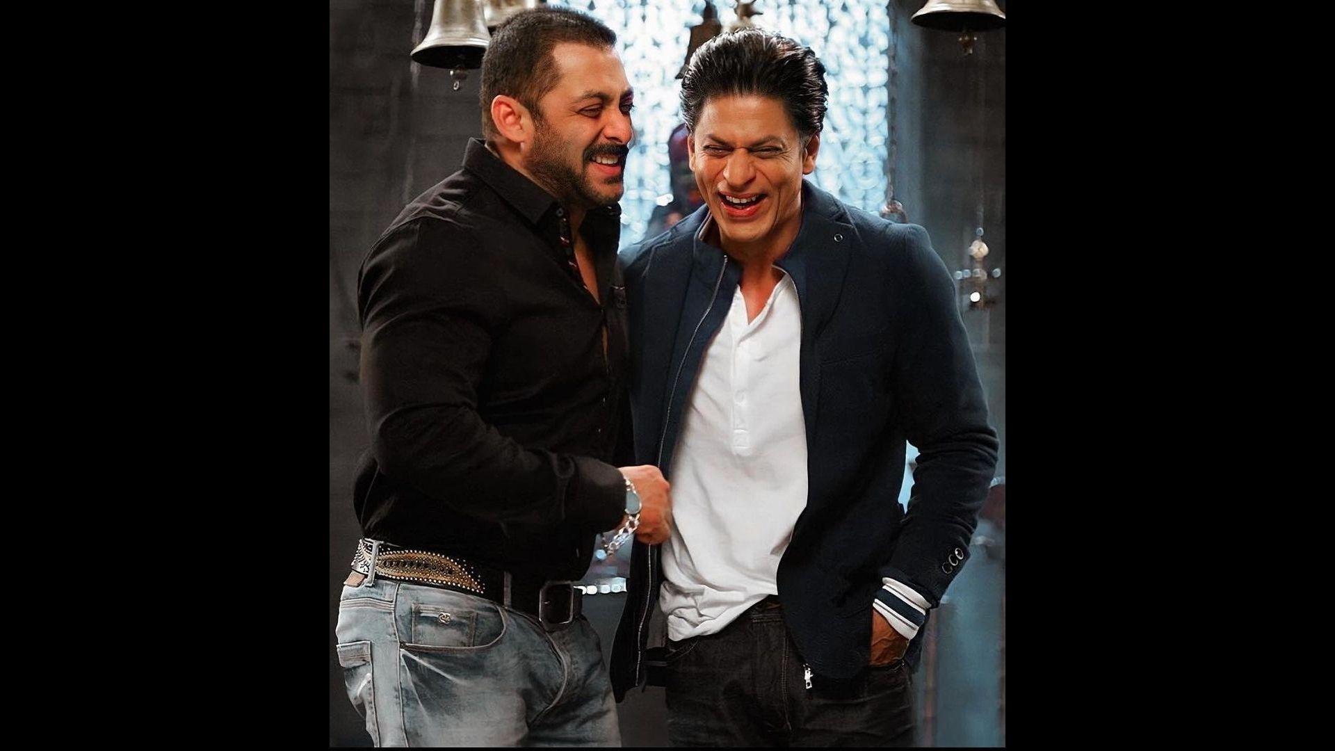 Salman Khan And Shah Rukh Khan's Bond Strengthens Amid Aryan Khan's Arrest – Deets Inside