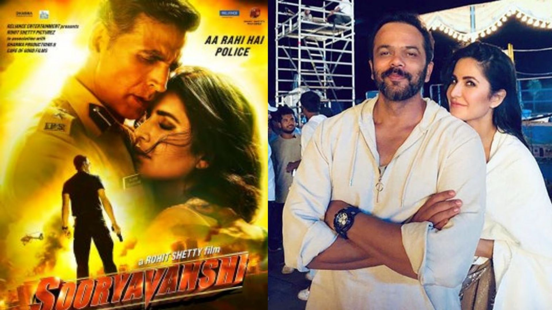 Sooryavanshi: Katrina Kaif And Director Rohit Shetty Arrive In Style For Movie Promotion