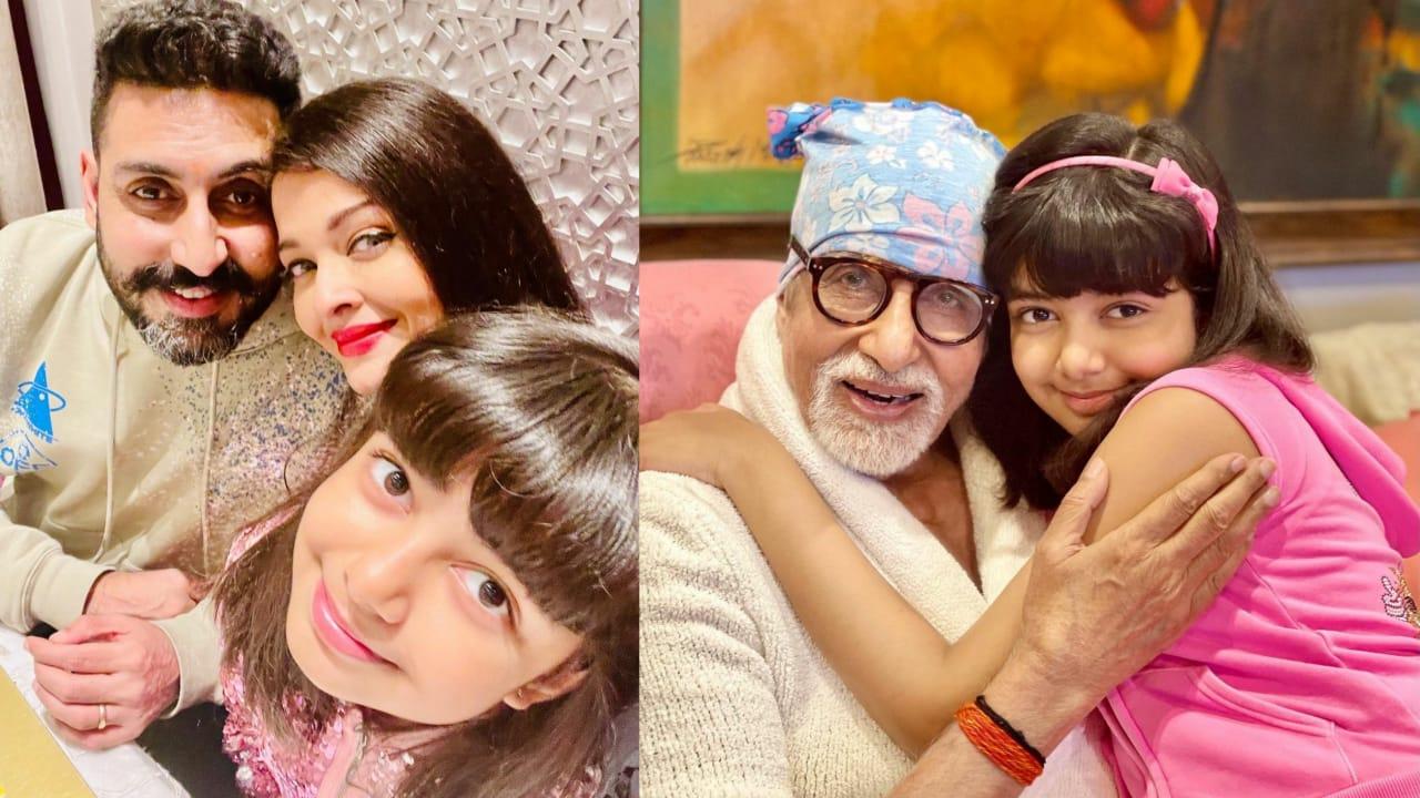 Amitabh Bachchan Receives Birthday Wish From Daughter-in-law Aishwarya Rai Bachchan; Bachchan Bahu Shares Smiling Photo With Aaradhya and Big B
